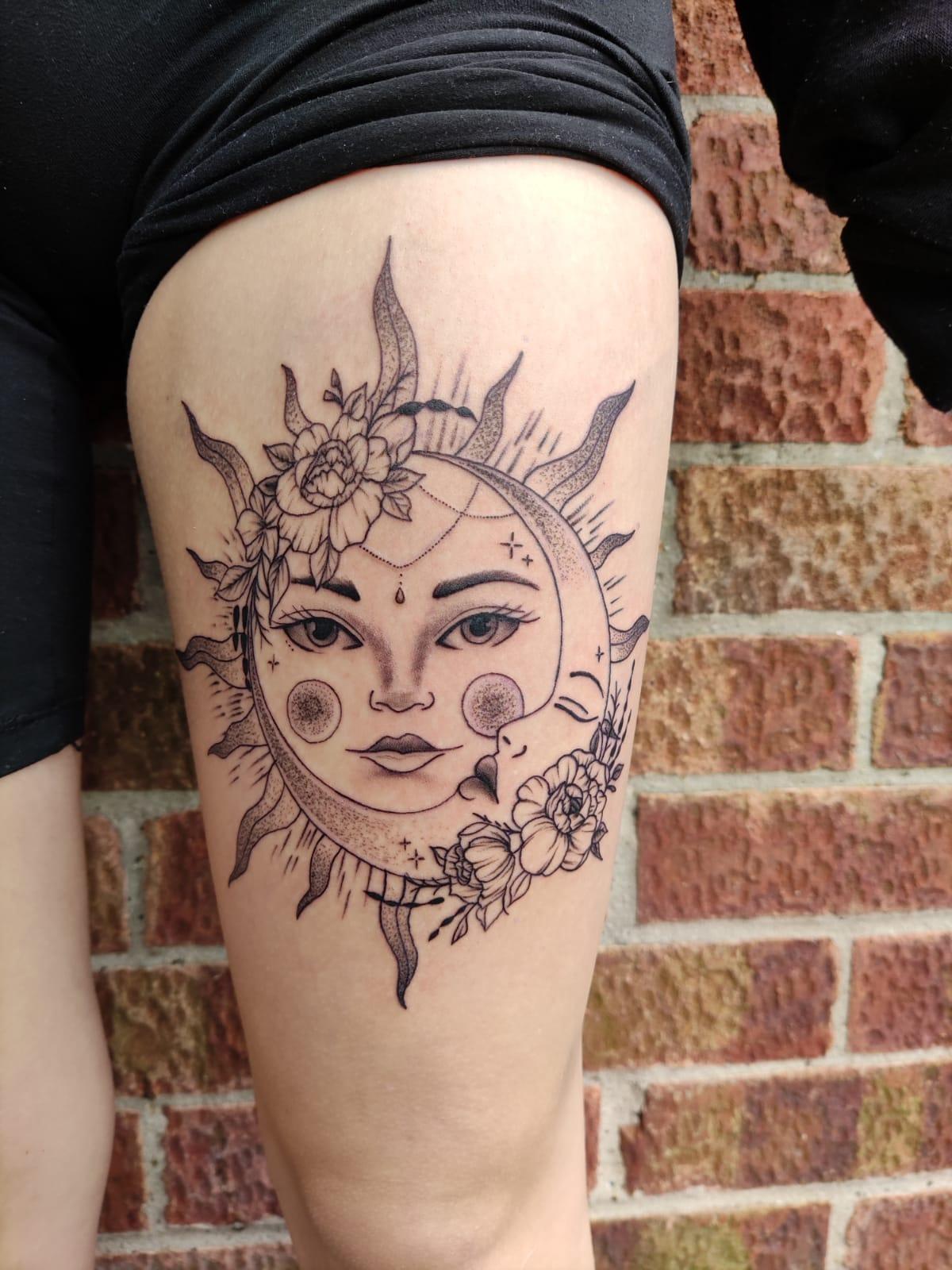 Iggy Tattooist Norwich. Black Dagger Tattoo Studio