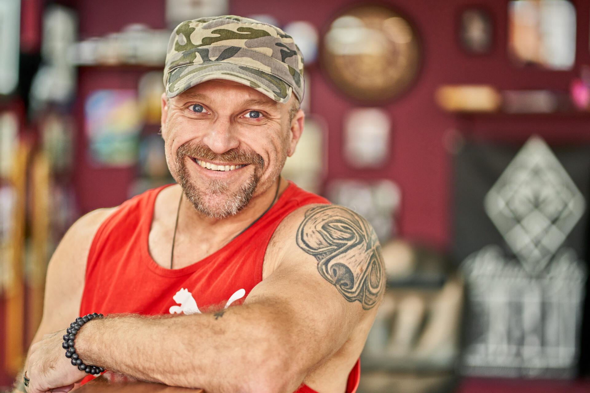 Barny Du Du Plessis Tattoo Artist Norwich at Black Dagger Tattoo Studio