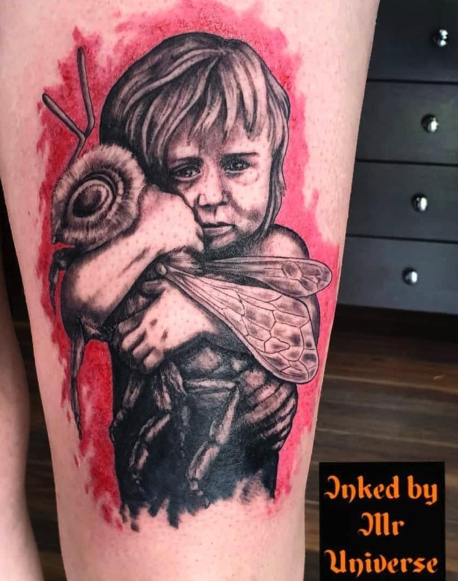 Barny Du Plessis Tattoo Artist Norwich