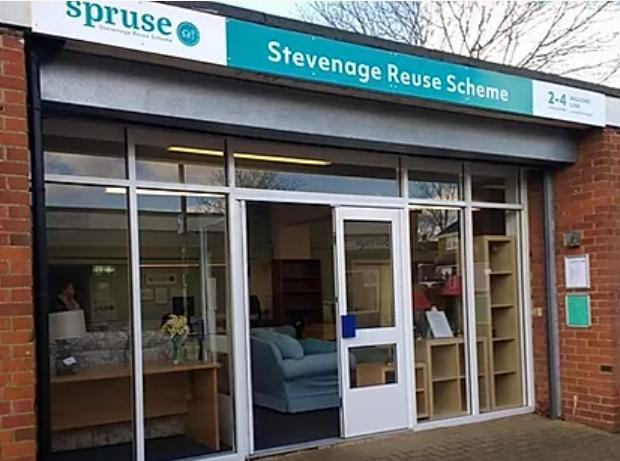 Steveange Reuse Scheme at Willows Link