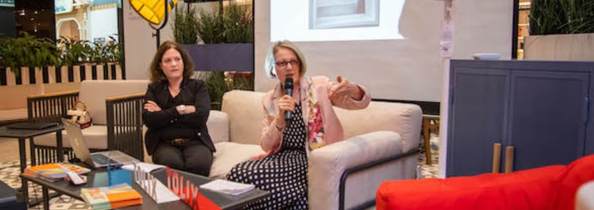 Watch: Chantal Andriot presents TOLIX® Products in Dubaï
