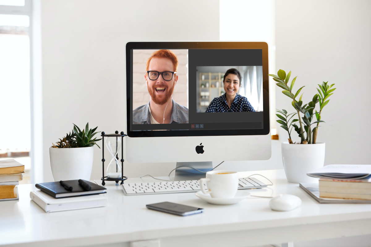 Online consultation on a mac
