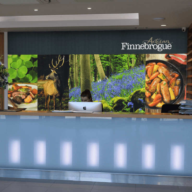 Image of Artisan Finnebrogue reception.