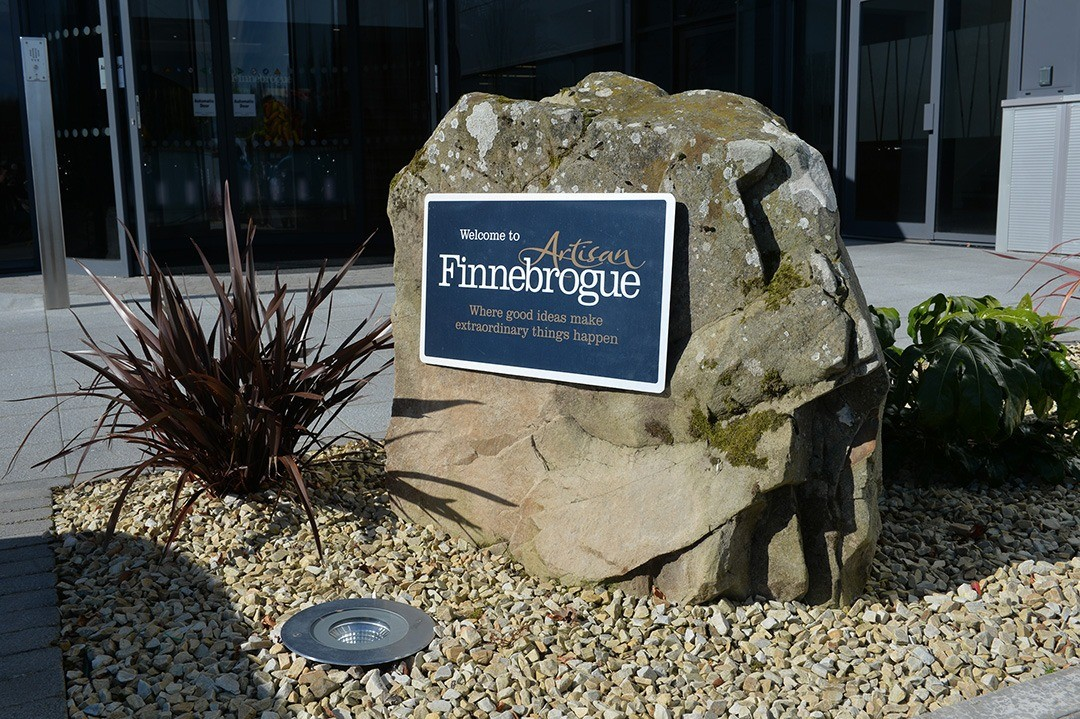 Image of outside of Finnebrogue office.