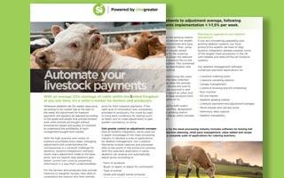 DATASHEET: Livestock payments and adjustments
