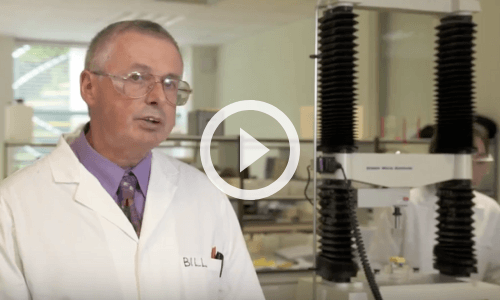 VIDEO: Texture analysis of cheese