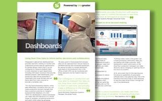 DATASHEET: Real time data dashboards