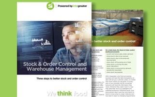 BROCHURE: Stock order control & warehousing