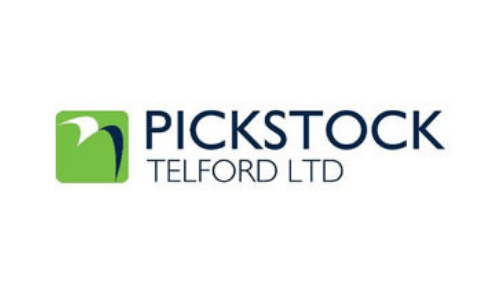 pickstock telford logo