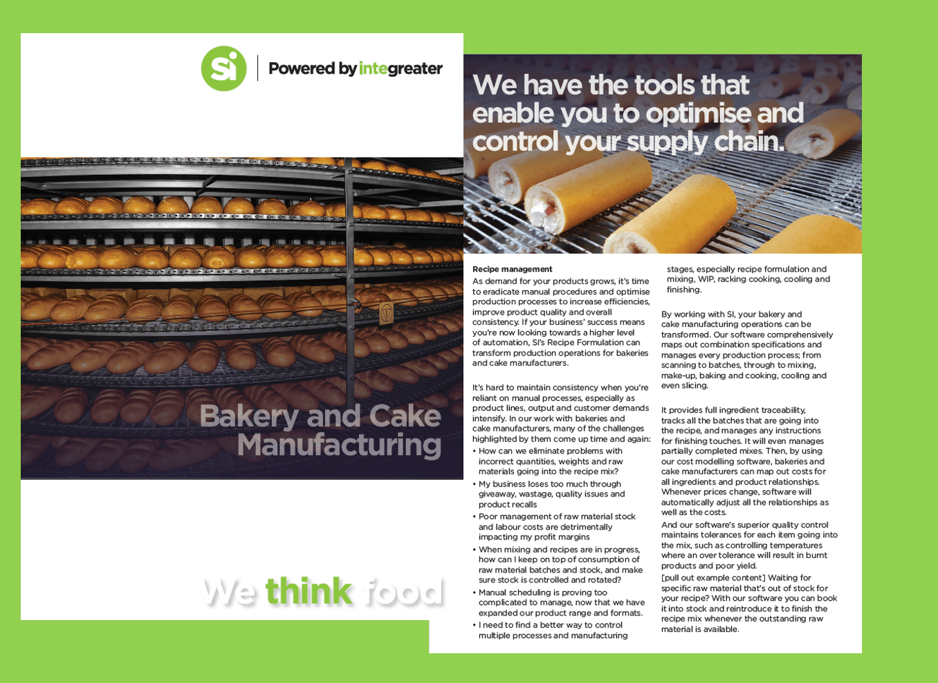 BROCHURE: Bakery and Cake Manufacturing Software