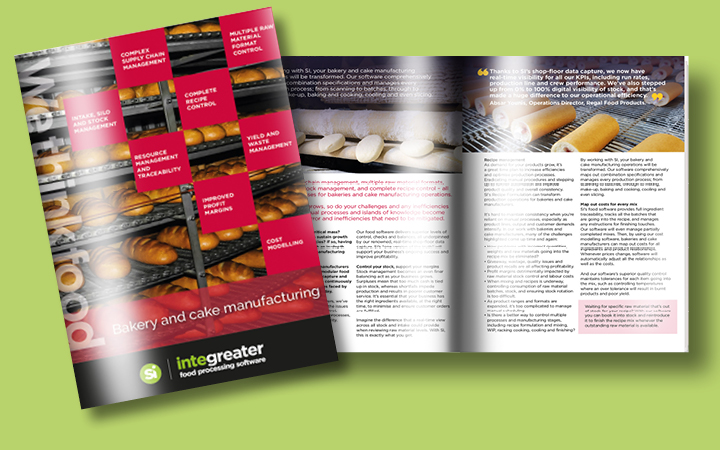 Bakery and Cake Manufacturing Software