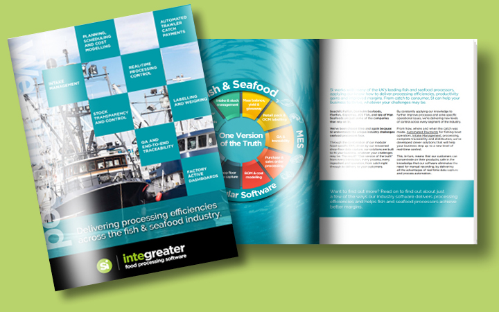 Fish and seafood processing brochure