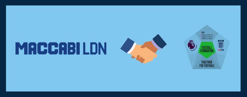 Maccabi London score with funding success