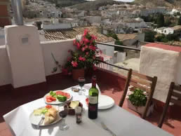 Spanish Holiday Accommodation Roof Terrace