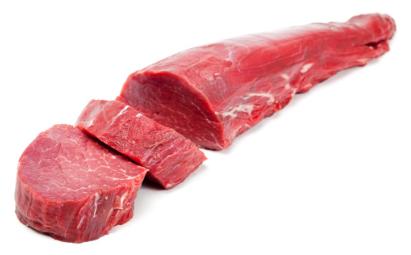 牛肉部位 「上後腿肉」脂肪最少的牛肉部位之一