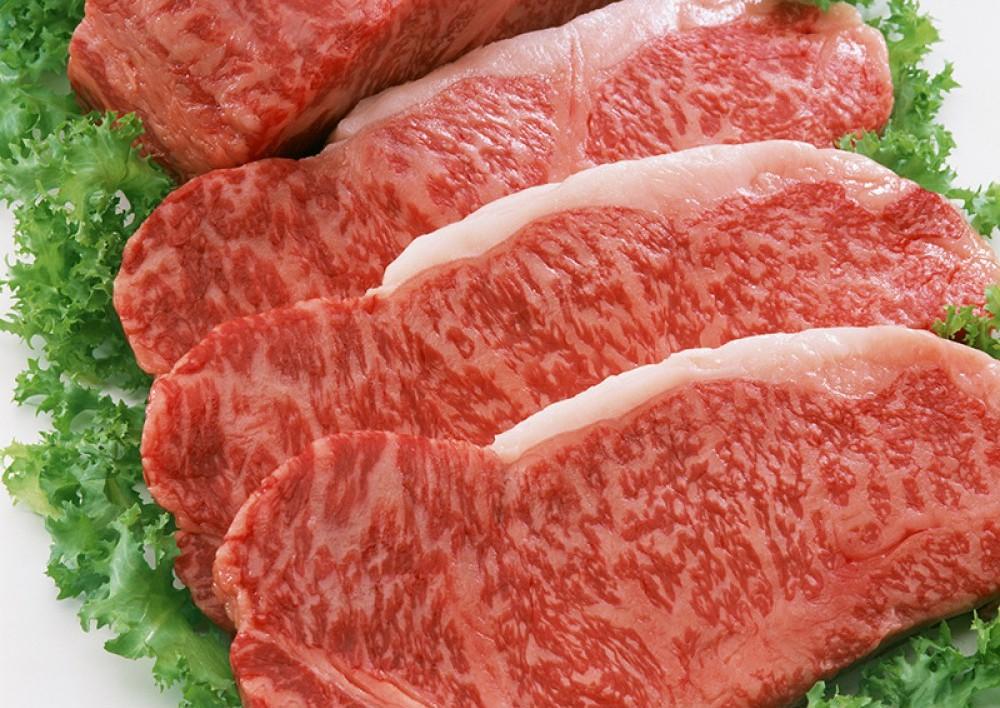 日本和牛 日本鹿兒島A5和牛西冷 日本國寶級的食材