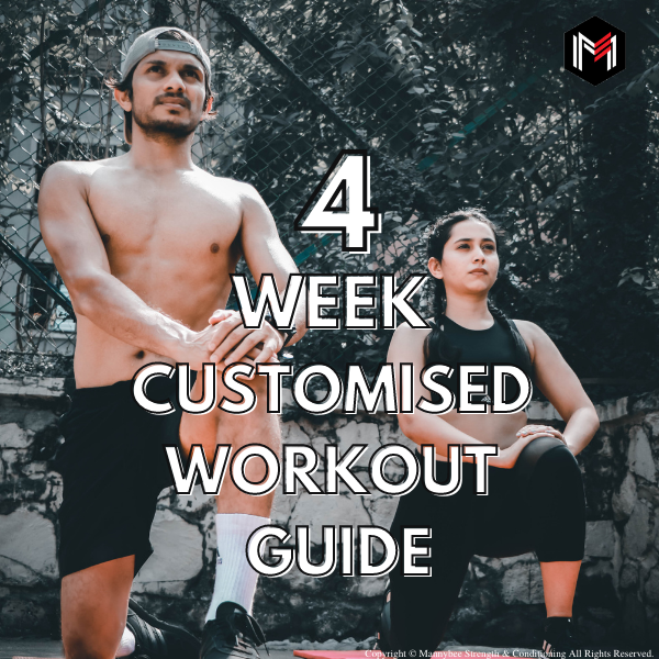 4 Week customized workout guide