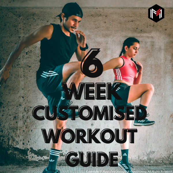 6 week customized workout guide