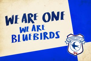 Cardiff City – We are One.
