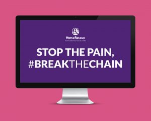 HorseWorld #BreakTheChain Advertising Campaign