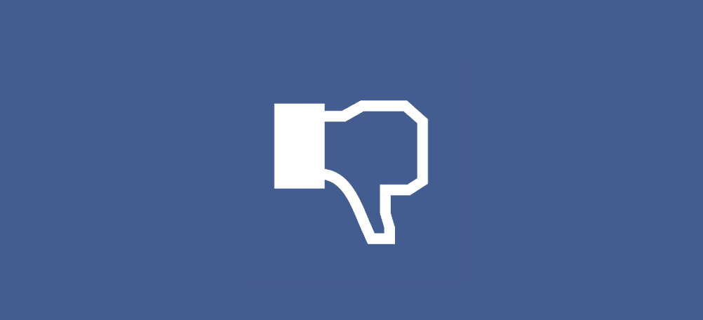 Facebook Dislike Button Advertising