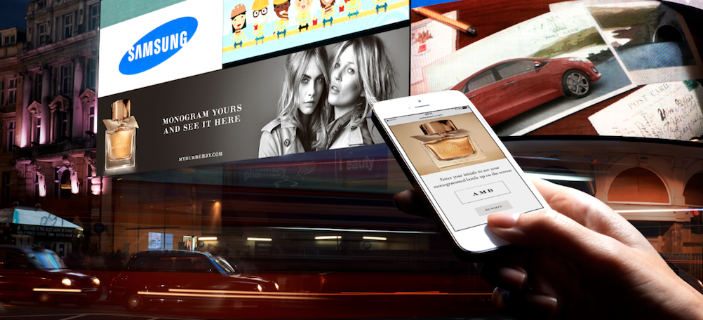 How mobile is changing out of home advertising