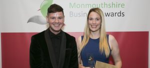 Hello Starling at the Monmouthshire Businesses Awards
