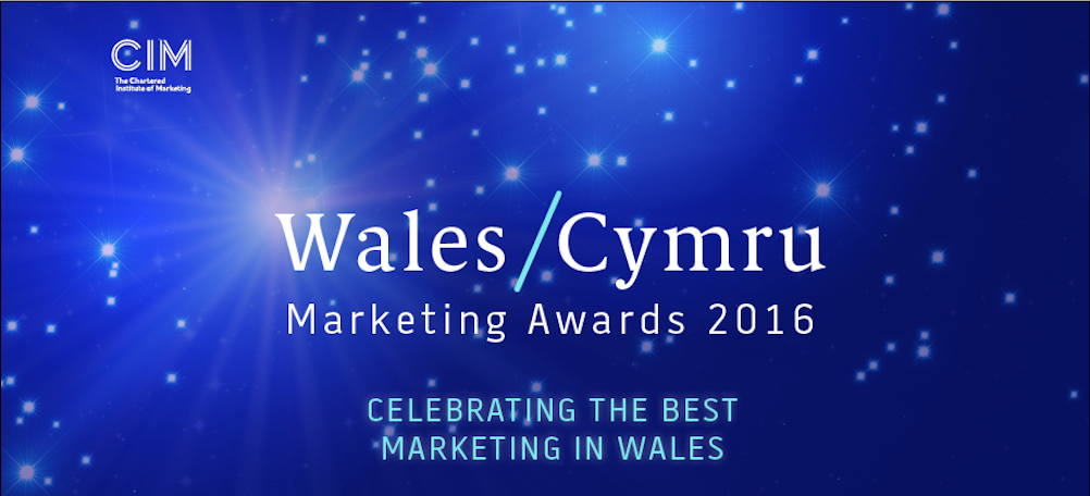 CIM Cymru/Wales Marketing Awards 2016
