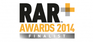 RAR awards 2014 finalists