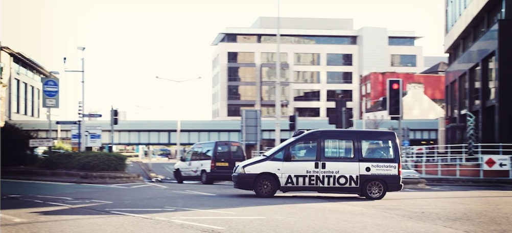 Attention advertising campaign