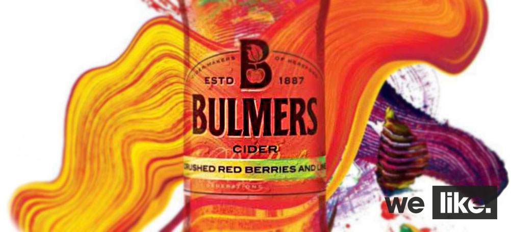Bulmers Live Colourful Design