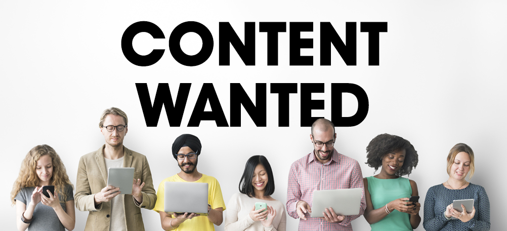Content wanted