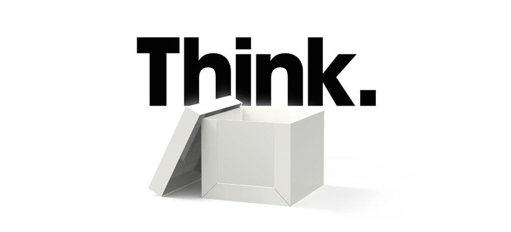 thinking outside the box Re-evaluating media plans has never been so important