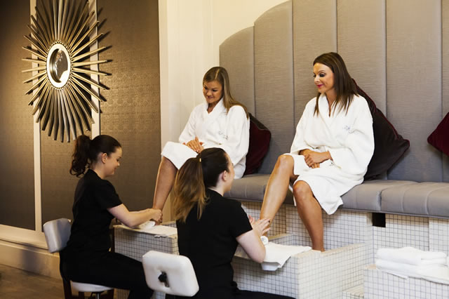Pedicures at The Buff Day Spa