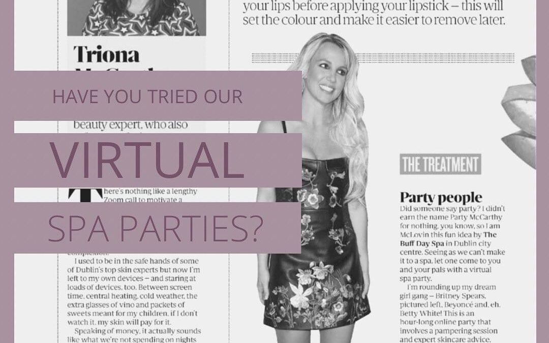 Virtual Spa Party