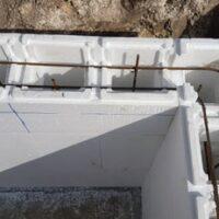 Stiroblok za izgradnju bazena