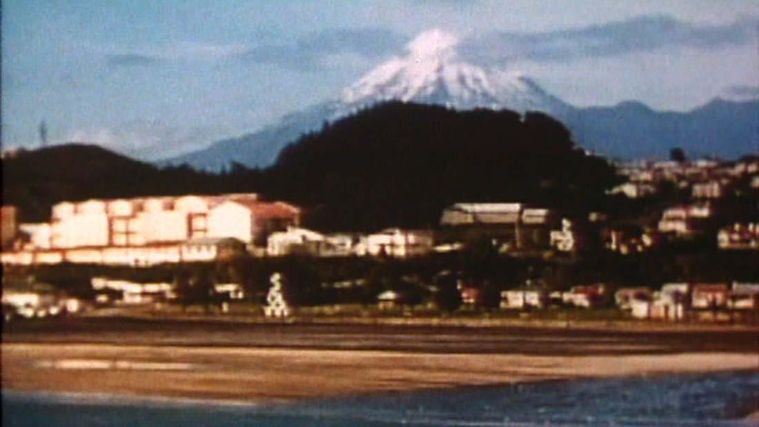 Taranaki featured in the film Wake