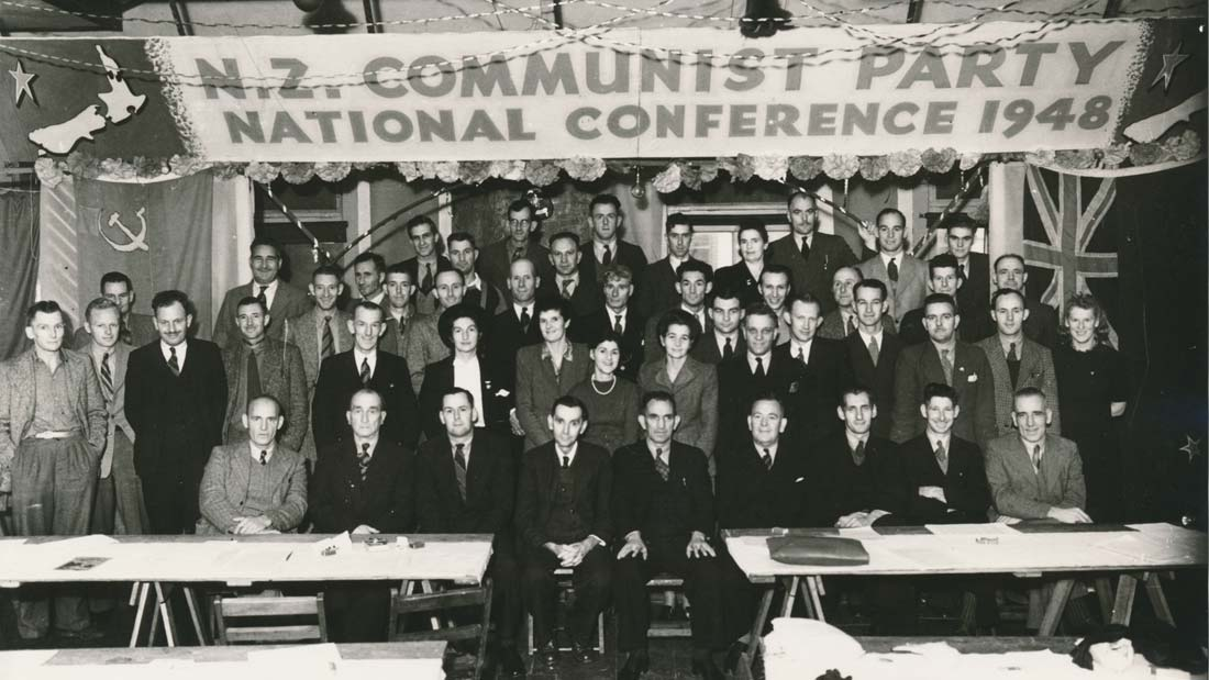 New Zealand Communist Party featured in the film Seeing Red