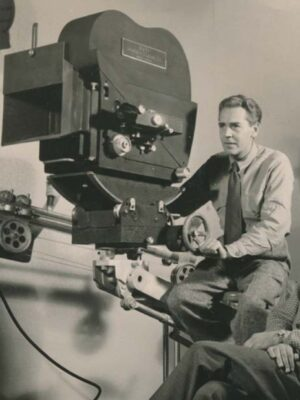 National Film Unit featured in the film Seeing Red
