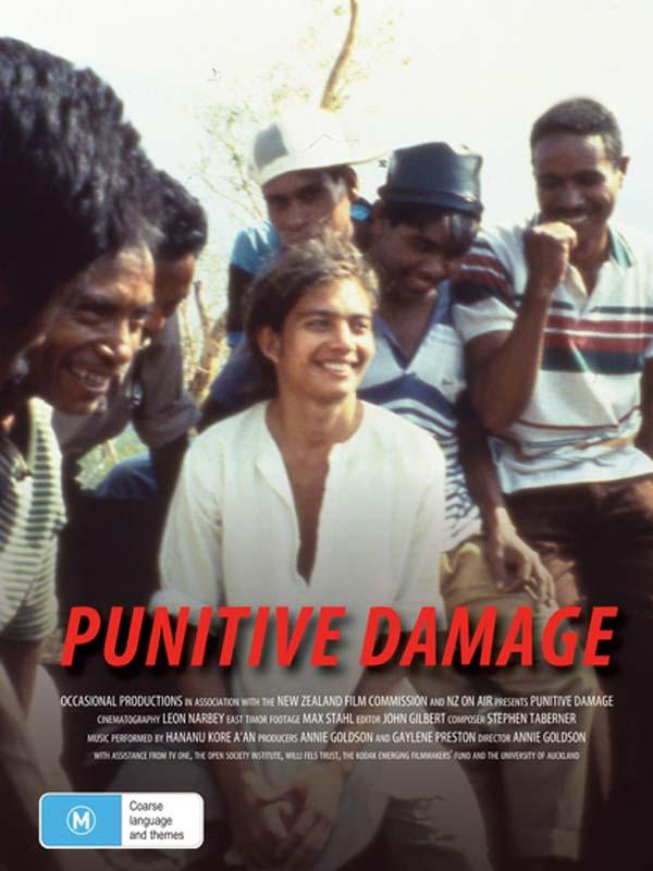 Punitive Damage DVD cover