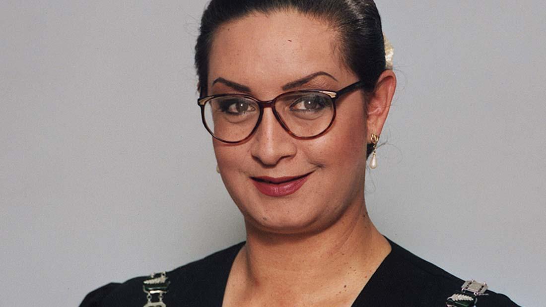 Georgina Beyer, Mayor of Carterton, featured in Georgie Girl