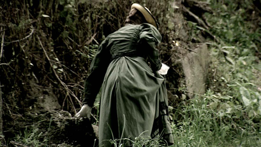 Reenactment of Helen Weaver in the film Elgar's Enigma