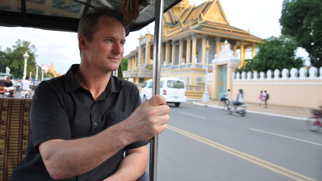 Rob Hamill in Phnom Penh - Still from the film Brother Number One