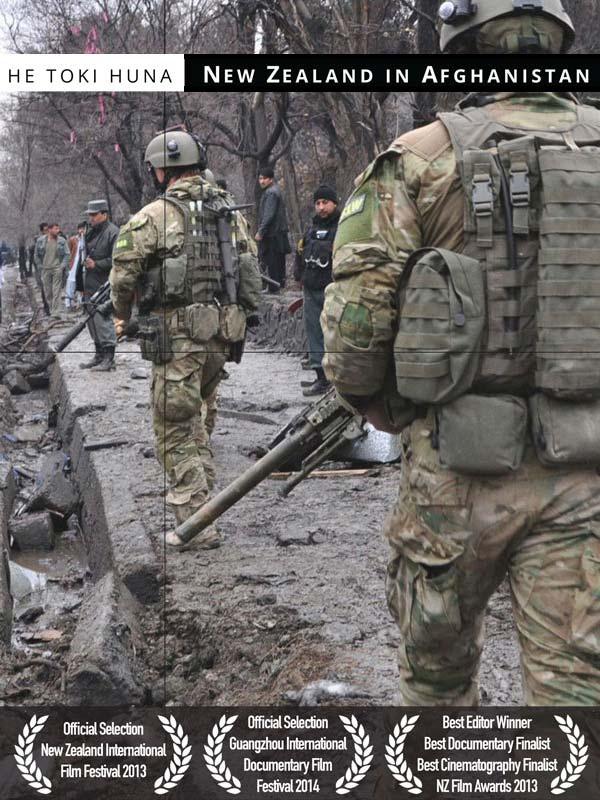 He Toki Huna: New Zealand in Afghanistan DVD cover