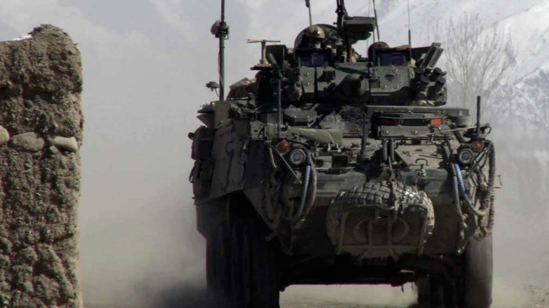 LAVs in Afghanistaion from He Toki Huna: New Zealand in Afghanistan