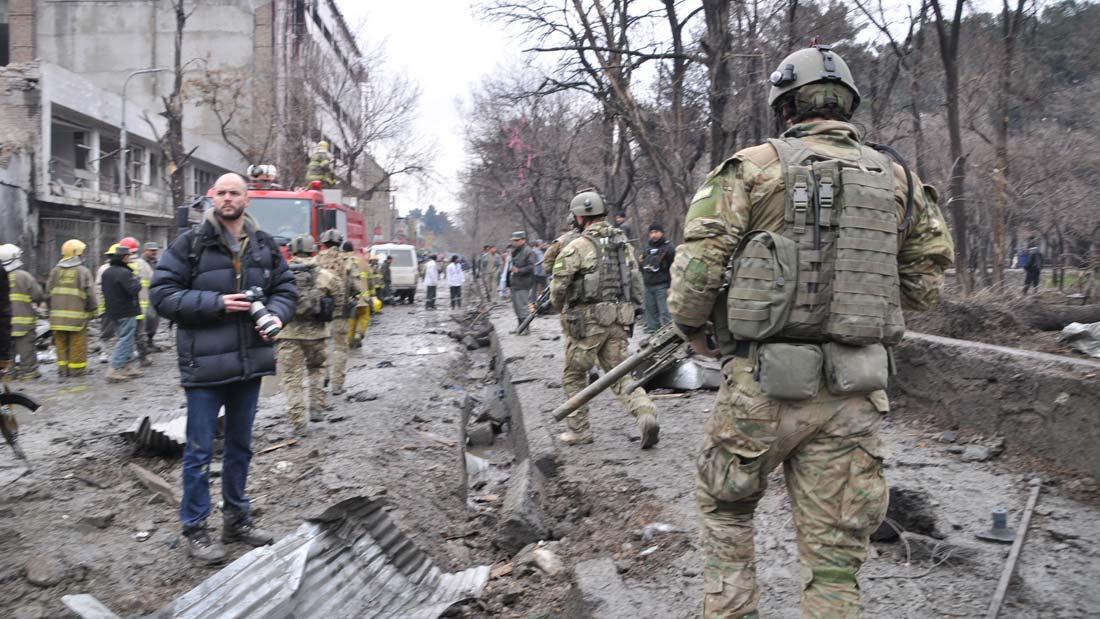 NZ SAS in Kabul - a still from He Toki Huna: New Zealand in Afghanistan