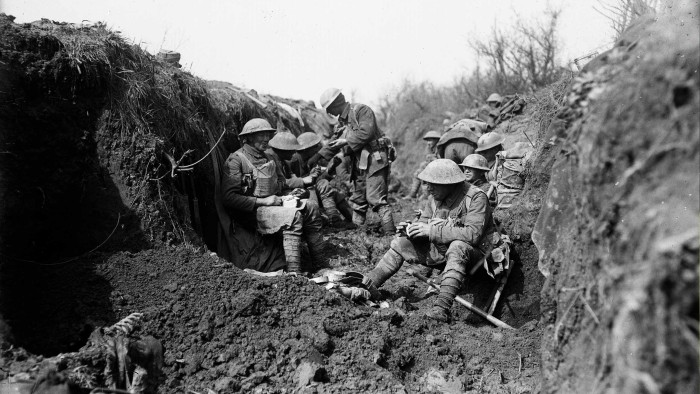 NZ troops on the Western front | Elgar's Enigma