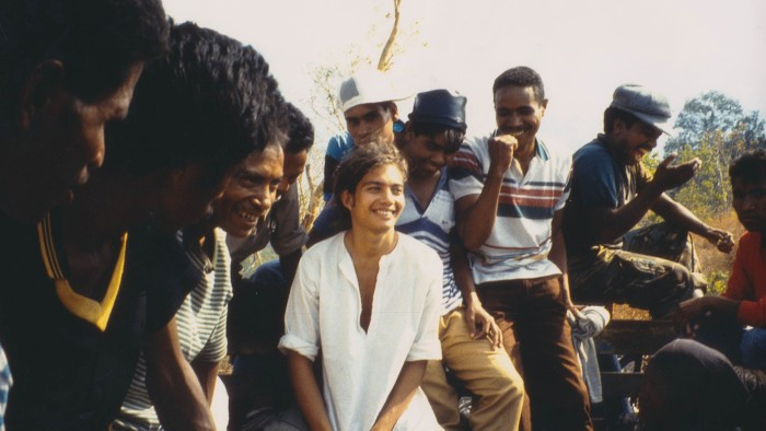 Kamal with friends featured in the film Punitive Damage