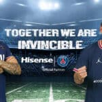 Hisense and PSG have announced a global partnership