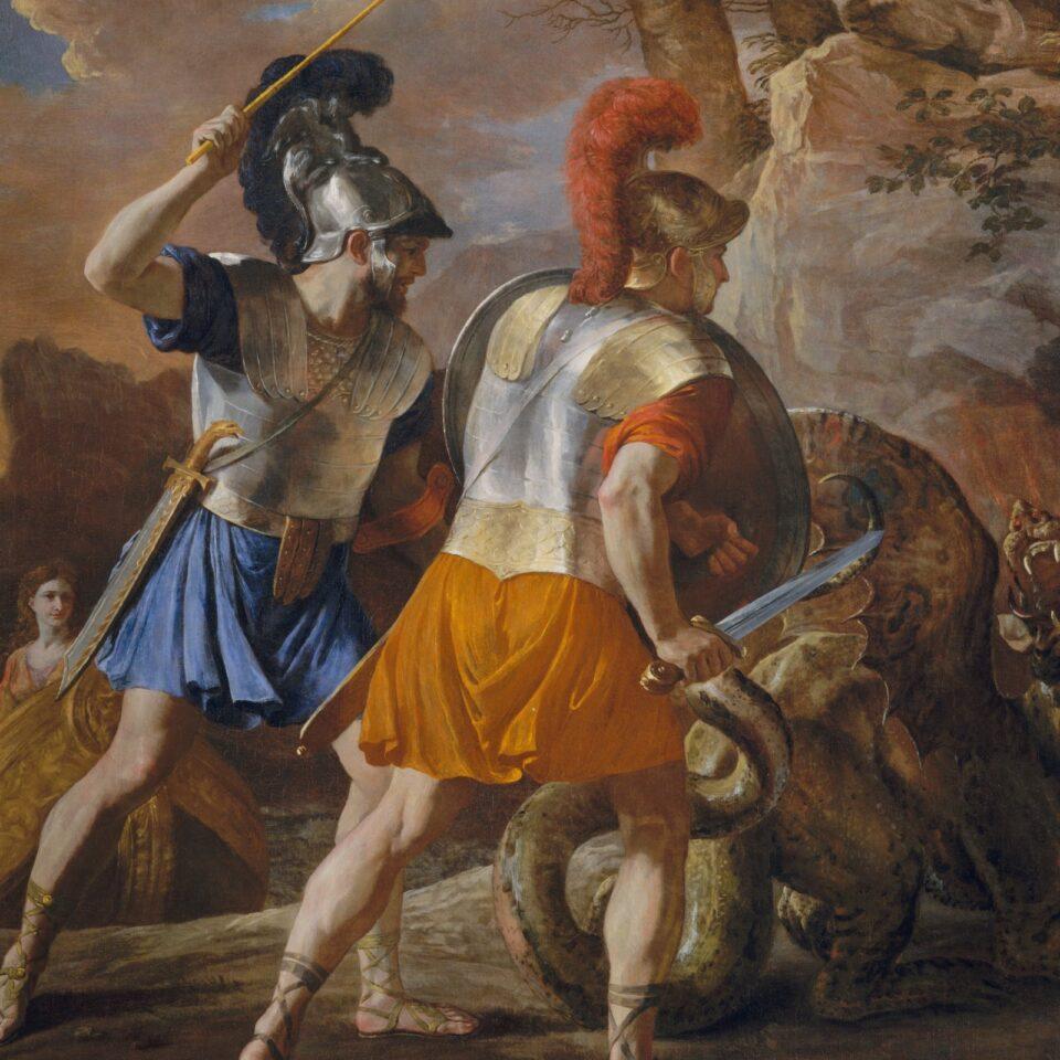 The Companions of Rinaldo - Nicolas Poussin